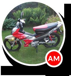 Motocykl prawo jazdy AM