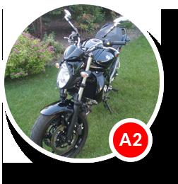 Motocykl nauka jazdy kategoria A2