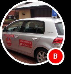 Prawo jazdy B Automatyczna skrzynia biegów